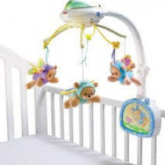 Carusel Fisher Price Butterfly Dreams - Carusel patut