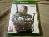 The Witcher wild Hunt, XBOX one, original si sigilat, alte sute de jocuri!, Role playing, Multiplayer, 18+