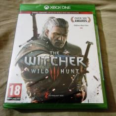 The Witcher wild Hunt, XBOX one, original si sigilat, alte sute de jocuri! - Jocuri Xbox One, Role playing, 18+, Multiplayer