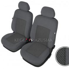 Set huse scaune auto Poseidon culoare Gri pentru Seat Altea Fata - Husa scaun auto KEGEL-BLAZUSIAK