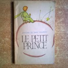Antoine de Saint-Exupery - Le petit prince - Carte Literatura Franceza