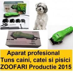 Aparat Masina de tuns profesionala animale caini Zoofari original DC-38