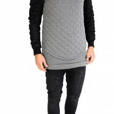 Bluza fashion gri - bluza barbati - COLECTIE NOUA - cod produs: 7515, Marime: M, L, Culoare: Din imagine