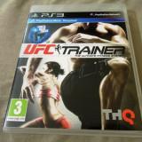 Joc Move UFC Trainer, PS3, original, alte sute de jocuri!