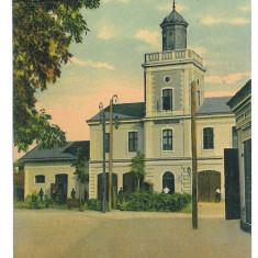 3638 - TURNU-SEVERIN, Firemen Tower - old postcard, CENSOR - used - 1916 - Carte Postala Oltenia 1904-1918, Circulata, Printata