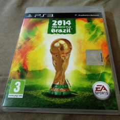 Joc Fifa World Cup 2014 Brazil, PS3, original, alte sute de jocuri! - Jocuri PS3 Ea Sports, Sporturi, 3+, Multiplayer