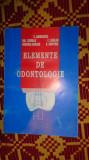 elemente de odontologie an 1998/161pag- C.Andreescu