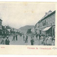 3645 - Litho, Harghita, ODORHEIUL SECUIESC - old postcard - used - 1900 - Carte Postala Transilvania pana la 1904, Circulata, Printata