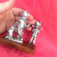 Statuete/Cuplu din cositor - Peltro !!!