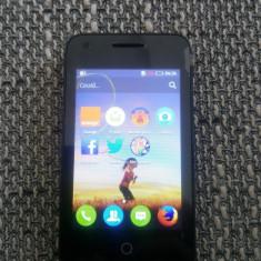 Telefon Alcatel Orange Klif, necodat, nou, in cutie, 3G, Wi-fi - Telefon Orange, Negru, <1GB, Neblocat, Single SIM, Dual-core