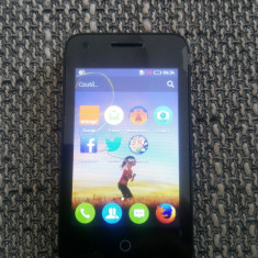 Telefon Alcatel Orange Klif, necodat, nou, in cutie, 3G, Wi-fi - Telefon Orange, Negru, <1GB, Neblocat, Single SIM, Dual-core