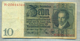 A1739 BANCNOTA-GERMANIA- 10 MARK -22.1.1929-SERIA00644564 -starea care se vede