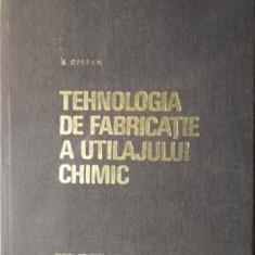 Tehnologia De Fabricatie A Utilajului Chimic - I. Oprean, 386063 - Carte Chimie