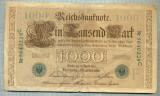 A1746 BANCNOTA-GERMANIA- 1000 MARK 21.4.1910-SERIA5640228 -starea care se vede