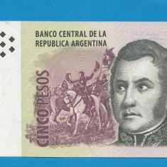 Argentina 5 pesos 2003 aUNC - bancnota america