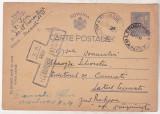 bnk fil Carte postala - intreg postal circulat 1944 - cenzura