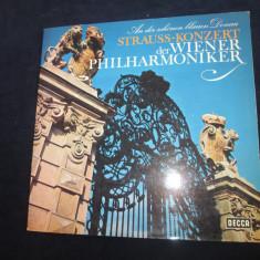Strauss / wiener philharmoniker - an der schönen blauen donau_vinyl, LP, germania - Muzica Clasica decca classics, VINIL