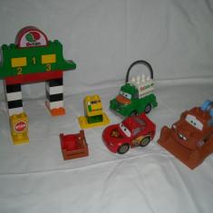 Lego Duplo - Cars - Fulger McQueen, Bucsa si Chug
