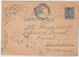 bnk fil Carte postala - intreg postal circulat 1942 - cenzura