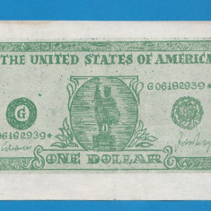 America SUA Bon 1 dollar - bancnota america