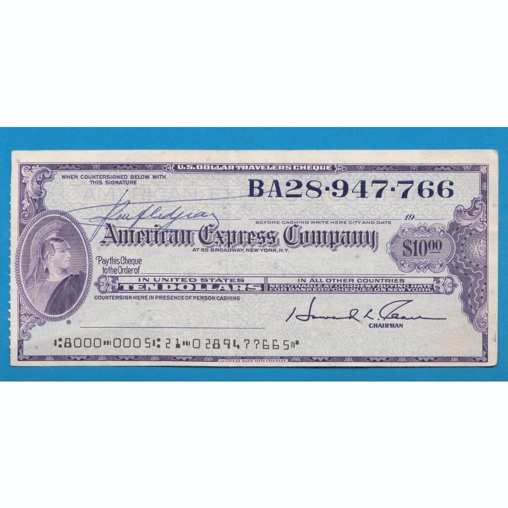 A2317 SUA America Bon 10 dollars