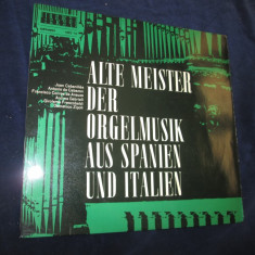 Joan cabanilles/antonio de cabezon/domenico zipoli-Alte Meister_LP, germania - Muzica Latino Altele, VINIL