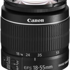 Canon EF-S 18-55mm f/3.5-5.6 IS STM cu stabilizator de imagine - Obiectiv DSLR Canon, Standard, Autofocus, Canon - EF/EF-S, Stabilizare de imagine