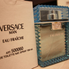 Parfum Original Versace Man Eau Fraiche 100ml TESTER - Parfum barbati Versace, Apa de toaleta