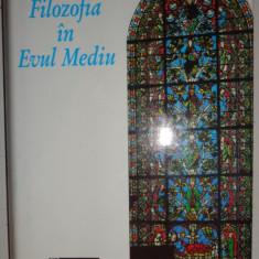 FILOZOFIA IN EVUL MEDIU AN 1995/CARTONATA/720PAG.= ETIENNE GILSON - Filosofie