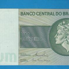 Brazilia 1 cruzeiro ND 1972 1980 UNC - bancnota america