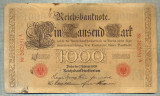 A1749 BANCNOTA-GERMANIA- 1000 MARK 7.2.1908-SERIA262951 -starea care se vede
