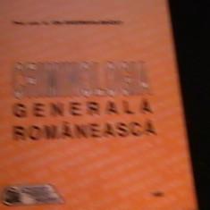 CRIMINOLOGIA GENERALA ROMANEASCA-I. GH. BRADET-219 PG-A 4-