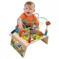 Centru De Activitati Cu Rollercoaster - Jucarie interactiva Alex Toys