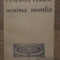 Minima Moralia - Andrei Plesu, 385035 - Filosofie
