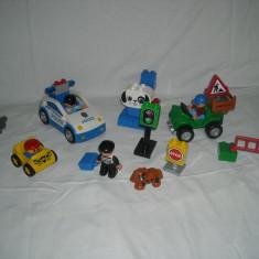 Lego Duplo - Masinuta politie + ATv + alte piese