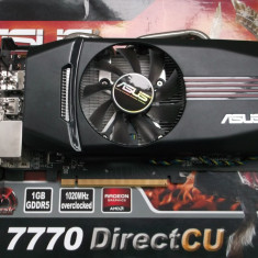 Asus HD 7770 1gb ddr5 /256 bits DirectCU DX11 Hdmi Gaming Box - Placa video PC Asus, PCI Express, Ati