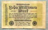 A1809BANCNOTA-GERMANIA-10 MILLIONEN MARK-22.8.1923-SERIA002118-starea ce se vede