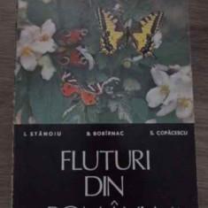 Fluturi Din Romania - I.stanoiu B.bobirnac S.copacescu, 385118 - Carti Agronomie