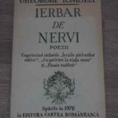 Ierbar De Nervi Poezii - Gheorghe Tomozei ,385181