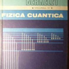 Cursul De Fizica Berkeley Vol.4 Fizica Cuantica - Eyvind H. Wichmann, 385972 - Carte Fizica