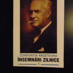 Constantin Argetoianu - Insemnari zilnice, vol 1 (1935 - 1936) - Carte Istorie