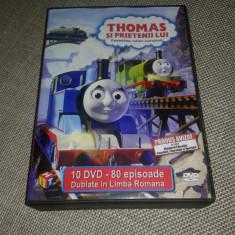 Thomas si Prietenii - Colectie 10 DVD-uri Desene Animate Dublate Romana - Film animatie Altele