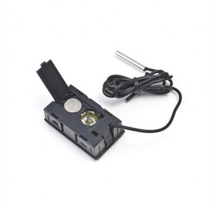 Termometru Digital cu fir si sonda, interior/exterior, frigider, etc, + BATERII