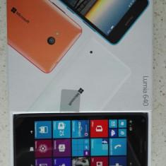Microsoft Lumia 640 LTE - Telefon Microsoft, Negru, Vodafone