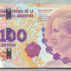 A1828BANCNOTA-ARGENTINA-100 PESOS-2012?-SERIA94653908-EVA PERON-starea se vede - bancnota europa