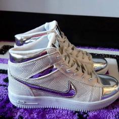 Ghete nike DAMA NOU ultimul model aparut 2016 - Ghete dama Nike, Culoare: Argintiu, Auriu, Marime: 36, 37, 38, 39, 40, Piele sintetica