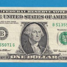 America SUA 1 dollar 1999 - bancnota america