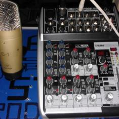 Mixer Xenyx QX 1002usb + Microfon c-1 Behringer - Mixer audio