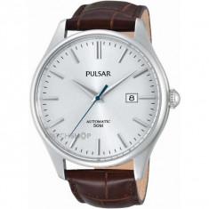 Ceas Automatic Pulsar Men's Dress - Ceas barbatesc Pulsar, Casual, Mecanic-Automatic, Otel, Piele, Analog