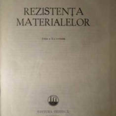 Rezistenta Materialelor - Gh. Buzdugan, 386049 - Carti Constructii
